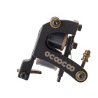 OCOOCOO T300A Carved Iron Master Secant Tattoo Machine - Black