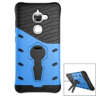 Protective TPU + PC Back Case w/ Stand for Letv 2 - Black + Blue