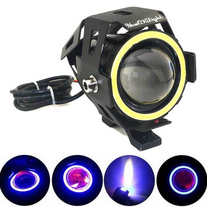 YouOKLight 15W U7 Waterproof Motorcycle LED Headlamp 3-mode Cold White