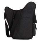 KAUKKO SG255 4L Men's Business Style Sling Chest Bag - Black