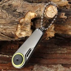 Outdoor Camping Multifunctional Small Knife - Grey