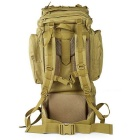 CTSmart Large-Capacity Outdoor Climbing Backpack - Khaki (65L)