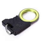 Outdoor Portable Mini Rope Cutting Tool - Black + Green