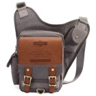 KAUKKO SG255 4L Men's Business Style Sling Chest Bag - Grey