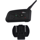 V4 4-Riders Intercom 1200m Bluetooth Interphone for Motorcycle Helmet
