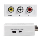 HDMI2AV HDMI AV Video Converter - White