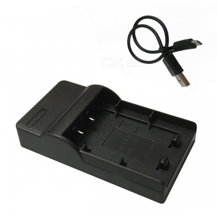 BX1 Micro USB Mobile Camera Battery Charger for Sony - Black