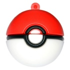 Poke Ball Style USB 2.0 Flash Drive - Red + White (32GB)