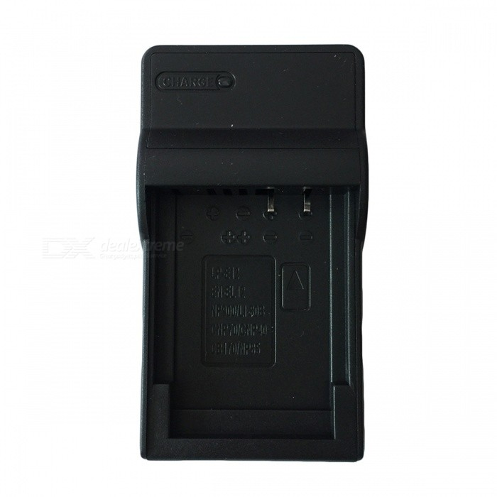 Ismartdigi EL12 Micro USB Mobile Camera Battery Charger - Black