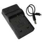 Ismartdigi BCF10E Micro USB Mobile Camera Battery Charger - Black