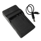 Ismartdigi BCG10E Micro USB Mobile Camera Battery Charger - Black