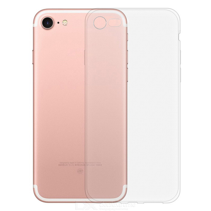 KICCY 0.6mm Ultra-thin TPU Soft Back Case for IPHONE 7 - TransparentTPU Cases<br>Form  ColorTransparentQuantity1 DX.PCM.Model.AttributeModel.UnitMaterialTPUCompatible ModelsiPhone 7DesignTransparentStyleBack CasesPacking List1 * TPU case<br>