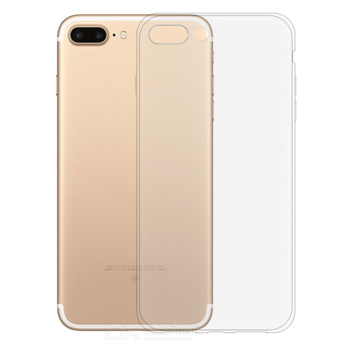 KICCY 0.6mm TPU Soft Back Case for IPHONE 7 Plus - TransparentTPU Cases<br>Form  Colortransparent(for iphone7 Plus)Quantity1 DX.PCM.Model.AttributeModel.UnitMaterialTPUCompatible ModelsiPhone 7 PLUSDesignTransparentStyleBack CasesPacking List1 * TPU case<br>