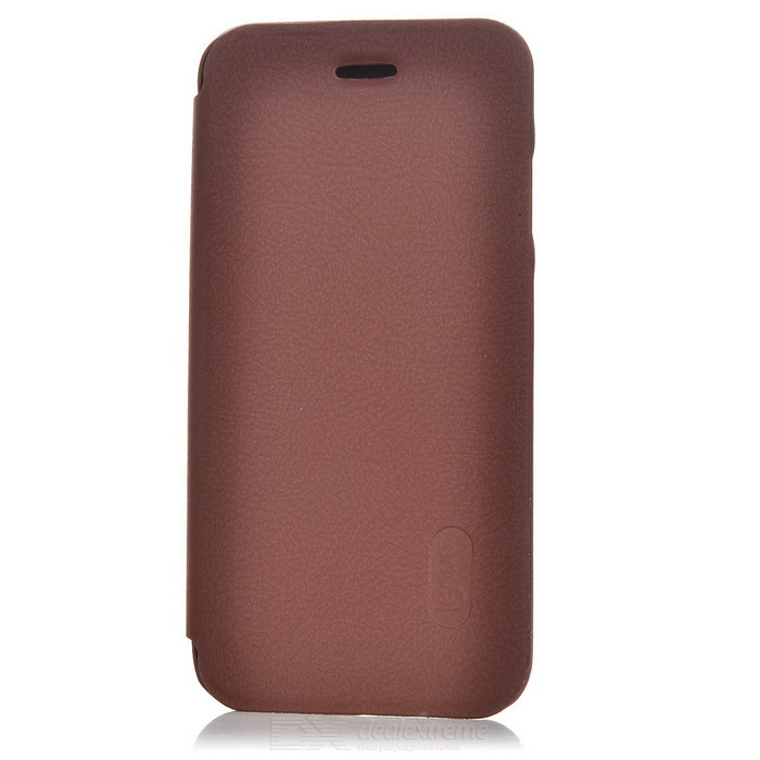 Protective PU Full Body Case w/ Card Slots for IPHONE 7 - Brown