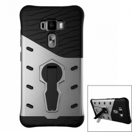 Protective TPU + PC Back Case w/ Holder for ASUS Zenfone 3 ZE552KL