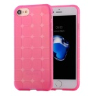 TPU Protective Back Case Cover for IPHONE 7 - Transparent Pink