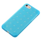 TPU Protective Back Case Cover for IPHONE 7 - Transparent Blue