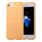 TPU Protective Back Case Cover for IPHONE 7 - Transparent Yellow