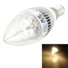 ZIQIAO JP1003 Cree 3W Warm White High-power LED Candle Light Bulb Lamp