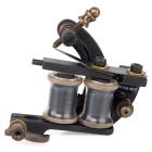 OCOOCOO Black Bat T450A Carved Iron Masters Tattoo Machine - Black