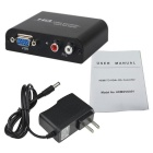 VGA to HDMI Switch - Black