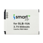 ismartdigi 10A 850mAh Battery + Micro USB Mobile Charger - White+Black