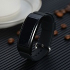 DF23 Waterproof IP68 Bluetooth Smart Band w/ Heart Rate Monitor -Black