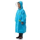 Naturehike Rainproof Plastic EVA Rain Coat for Children - Blue ( L)