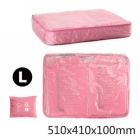 NatureHike Folding Nylon Organizer Storage Bag Container - Pink (L)
