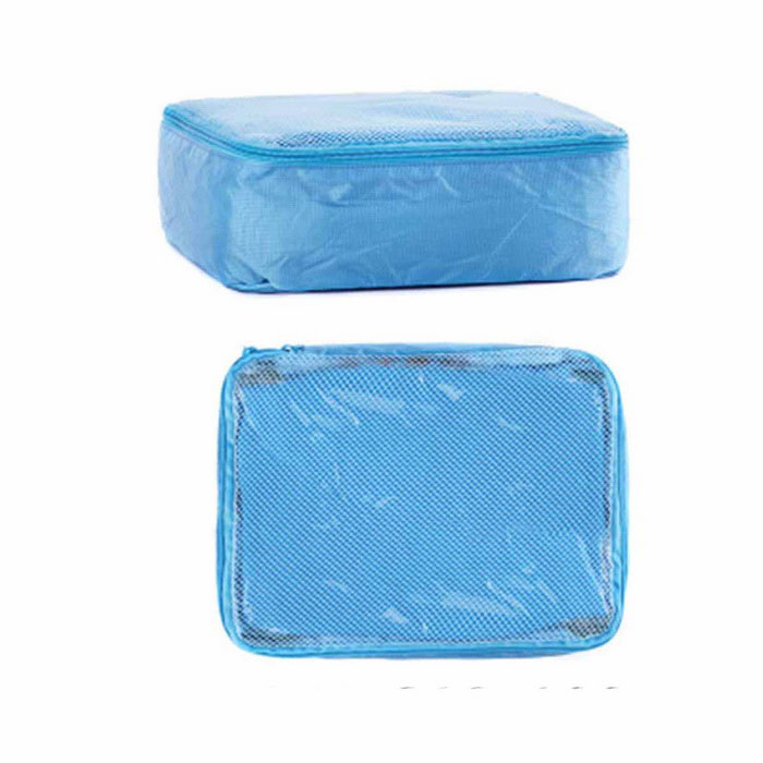 NatureHike Folding Nylon Organizer Storage Bag Container - Blue (S)