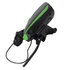 CARKING USB Cycling Electric Horn Bicycle Headlight - Green + Black