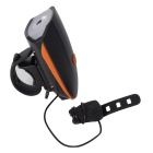 CARKING USB Cycling Electric Horn Bicycle Headlight - Orange + Black