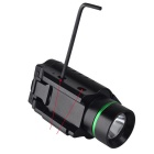 Richfire SF-P25 300LM 1-LED blanco + 5W vista láser verde 20mm carril