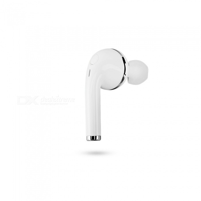 Cwxuan Bluetooth V4.1 Headset Earhook com microfone - Branco