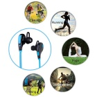 caseme sport bluetooth V4.0 in-ear hörlurar för IPHONE 7 - blå + svart