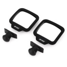 Adjustable Lens Car Rear Seat Rear View Mirror Back Row Mirrors (Pair)