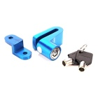 IZTOSS L1038BL Motorbike Wheel Disc Brake Lock Safety Alarm - Blue
