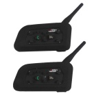 Vnetphone Motorcycle Helmet Intercom V6-1200m Bluetooth Interphone