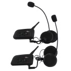 V4 4-Riders moto intercomunicador de casco de la motocicleta bluetooth interphone 1pair
