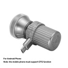Hat-Prince Mini Portable Razor for Android Phone - Dark Grey