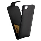 PU Leather Case w/ Card Slots for IPHONE 7 - Black