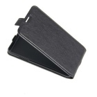 Flip-up Protective PU Leather Case Cover for Bluboo Maya - Black