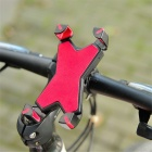LEADBIKE Bike Mobile Rack Rotating Mountain Bike Phone Holder - Red