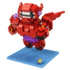 Diamond Micro Particles Assembled Toy - Red