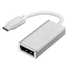 Kitbon USB 3.1 Type-C to Display Port DP 1080P Adapter Cable - Silver