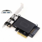 PCI-E-USB3.1-2A PCI Express to Dual Port USB 3.1 Adapter Card
