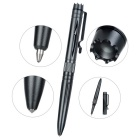 FURA Hollow Out Design Aluminum Alloy Ball-Point Pen w/ Clip - Grey