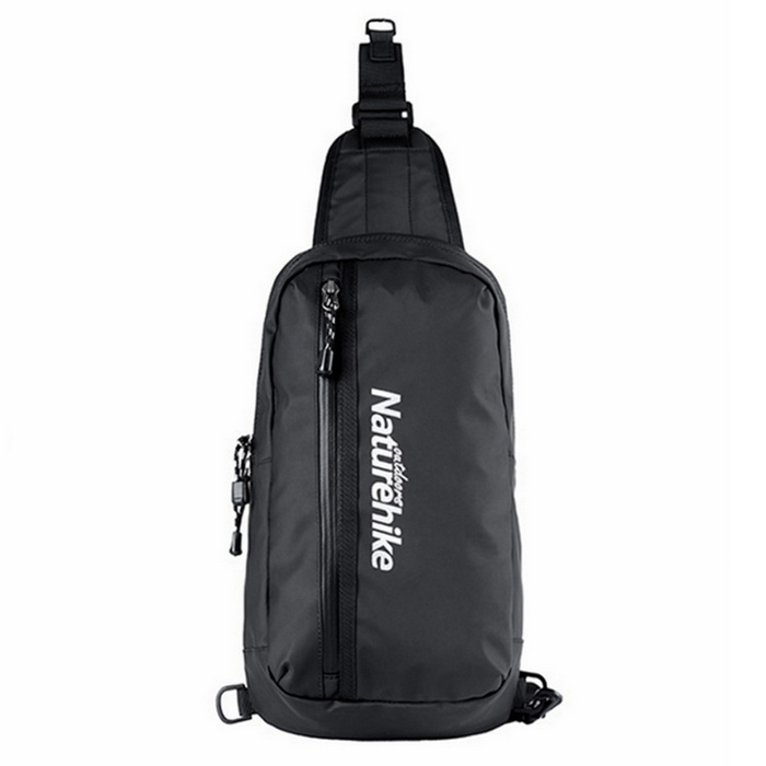 NatureHike Waterproof Single Shoulder Chest Bag - Black (8L)