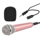 Outdoor Portable  Microphone - Champaign Golden