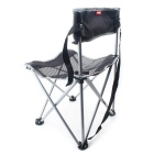 NatureHike NH16J001-J Outdoor Portable Folding Chair - Black